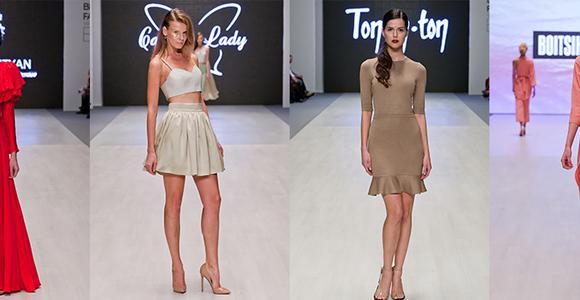 Убранство для новогодней ночи от Belarus Fashion Week