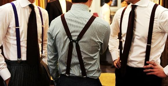 Подтяжки как носить