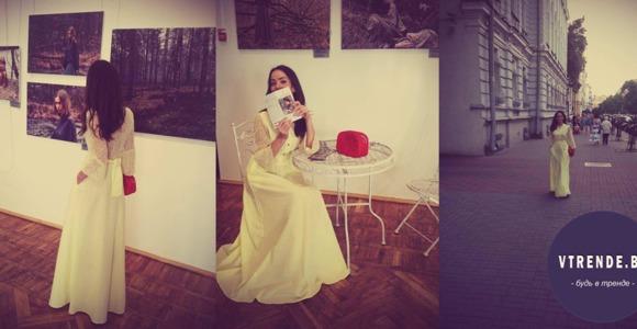Бренд PAVLOVA - дизайнерские платья осени 2015.