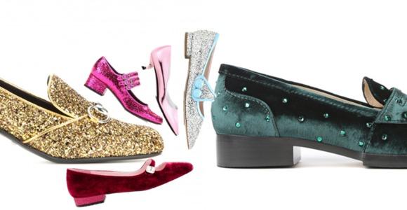 Женские туфли - новая обувь в новогоднюю ночь!