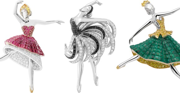 Знаменитые броши VAN CLEEF & ARPELS, вдохновленные мировыми музыкальными шедеврами!