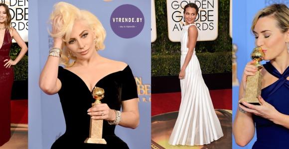 Золотой глобус 2016 - у кого платье лучше?