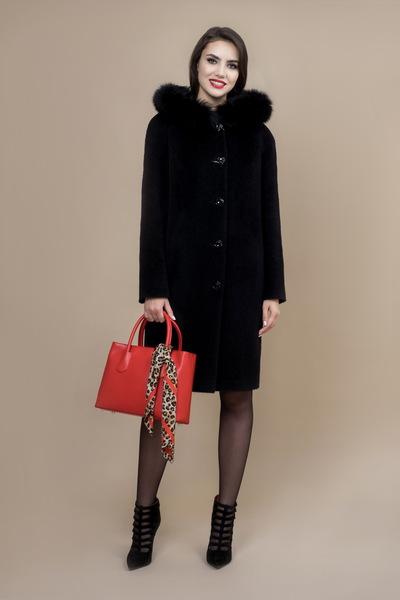 Пальто женское зимнее 7-7362-2