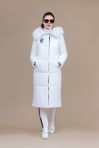 Пальто женское плащевое утепленное 5-8146-1