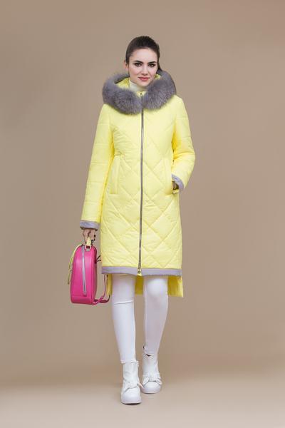Пальто женское плащевое утепленное 5-8118-1