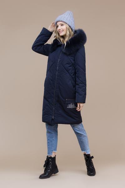 Пальто женское плащевое утепленное 5-8024-1