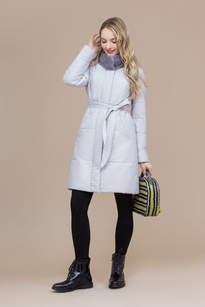 Пальто женское плащевое утепленное 5-8139-1