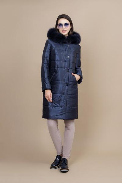 Пальто женское плащевое утепленное 5-7299-2