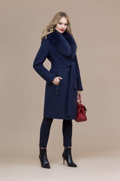 Пальто женское зимнее 7-8095-1
