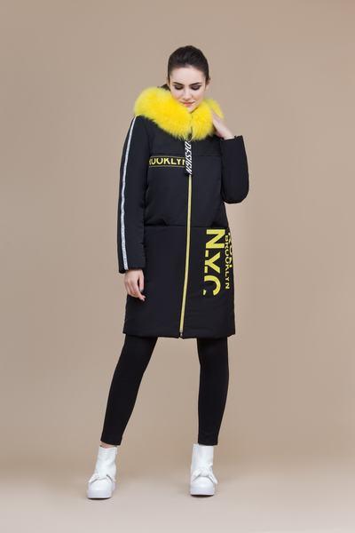 Пальто женское плащевое утепленное 5-8100-1