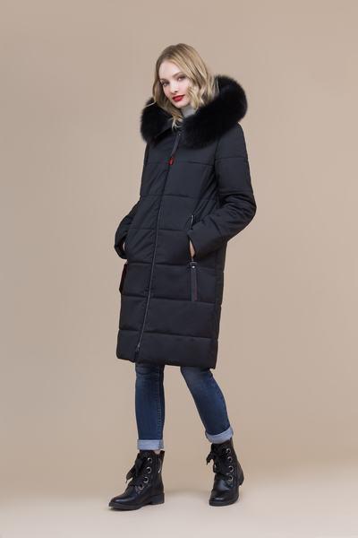 Пальто женское плащевое утепленное 5-8078-1