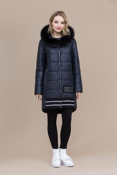 Пальто женское плащевое утепленное 5-8023-1