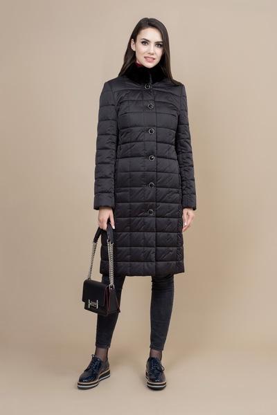 Пальто женское плащевое утепленное 5-7351-2