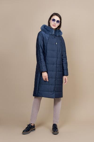 Пальто женское плащевое утепленное 5-6607-2