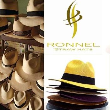 Соломенные шляпы Ronnel